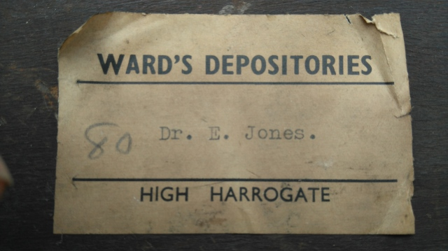 Dr Jones Storage Label