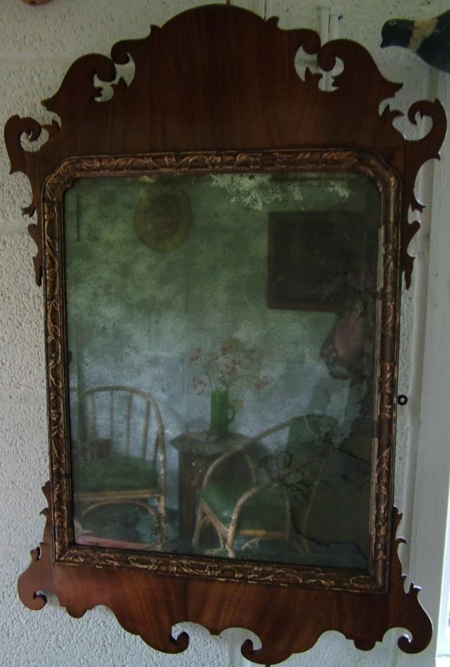 A Garden Room Looking Glass