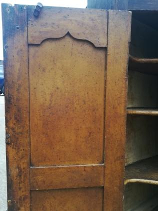 Elm Corner Cabinet Interior Door